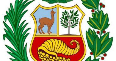 Escudo de la bandera de Perú