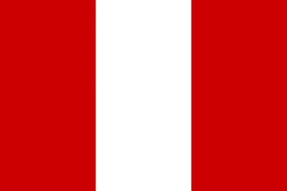 Imágenes de la bandera de Perú sin escudo