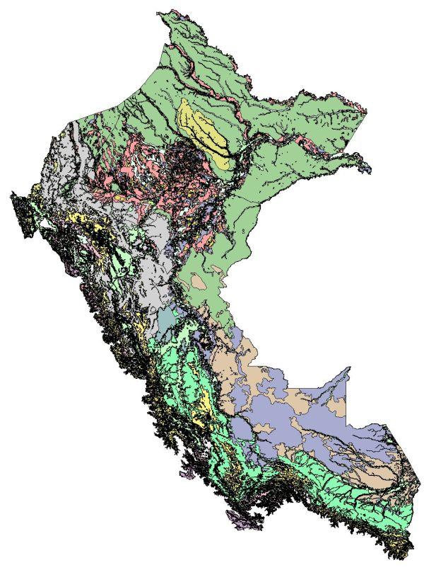 Mapa de ecosistemas del Perú