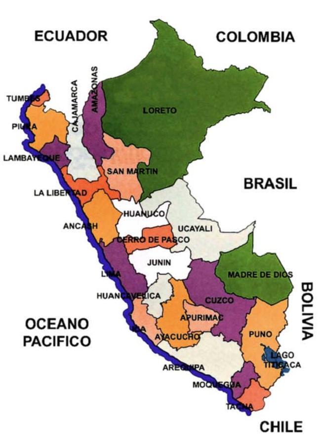 Provincias del Perú