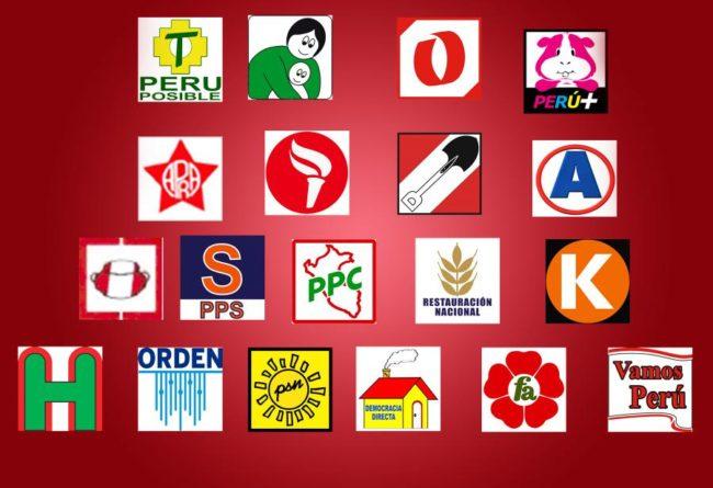 conoce sobre los partidos políticos del perú
