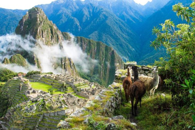 aprende del patrimonio natural del perú