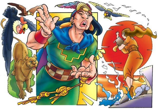datos de las principales leyendas del perú