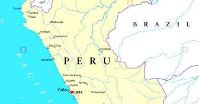 Mapa del Perú y sus ciudades
